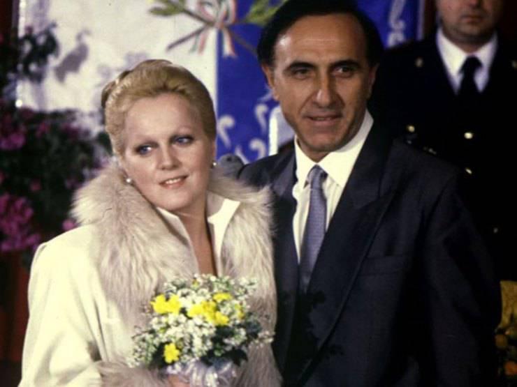 Il matrimonio di Katia Ricciarelli e Pippo Baudo