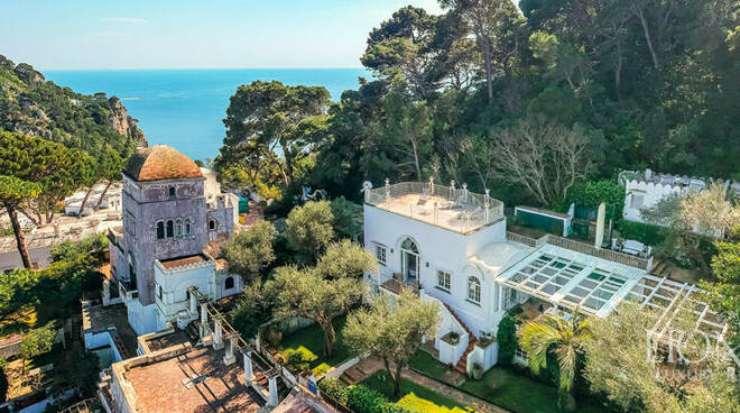 La villa da sogno di Cristian De Sica (Positano News)