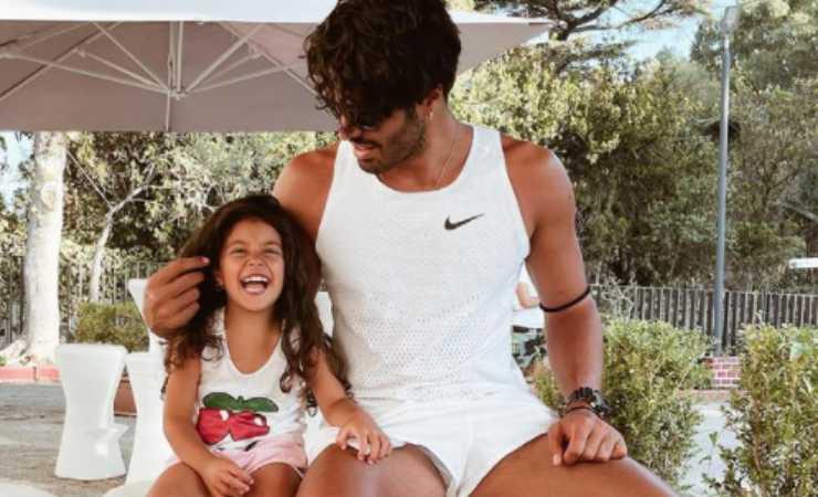 Luciano punzo figlia (Instagram)