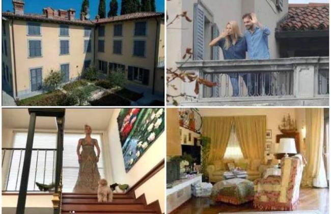 Michele Huniziker e Tomaso Trussardi, avete mai visto dove vivono? casa da sogno