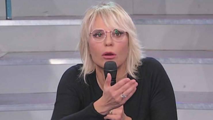 Maria De Filippi durante le registrazioni di UeD (City Roma News)