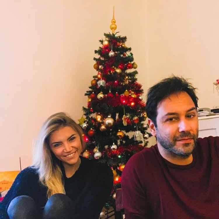 Matteo Branciamore e fidanzata