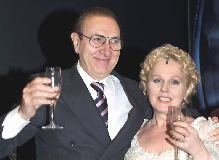 Pippo Baudo e Katia Ricciarelli (Tiscali Spettacoli)
