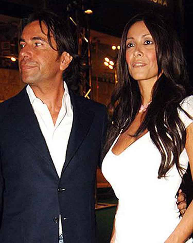 Sabrina Ferilli ex Andrea Perone con Sara Varone