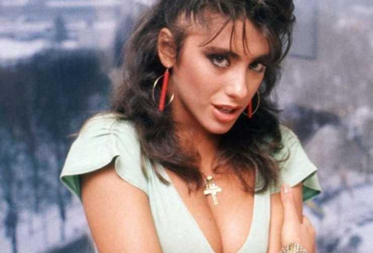 Sabrina Salerno ecco com'era nei primi anni '80