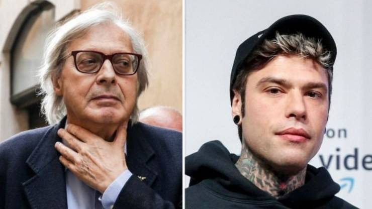 Vittorio Sgarbi e Fedez, è scontro (Virgilio Notizie)
