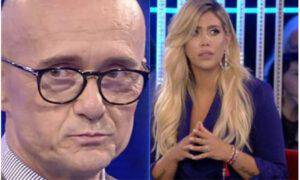 Alfonso Signorini escluso Wanda Nara GF Vip