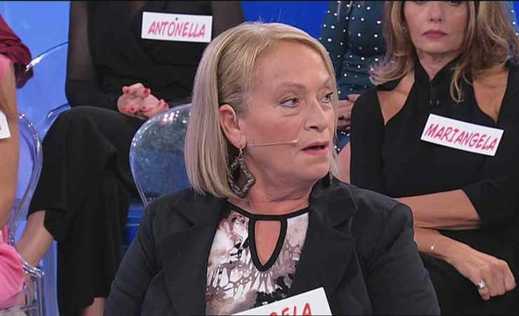 Angela di Iorio a Uomini e Donne (MeteoWeek)