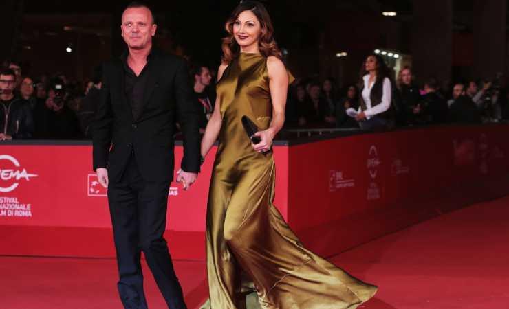 Anna Tatangelo e Gigi D'Alessio insieme nel 2012, lui avrebbe voluto sposarlo (Getty, Elisabetta Villa)