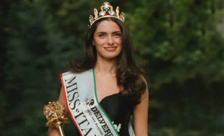 Anna Valle nel 1995, quando vinse Miss Italia (MeteoWeek)