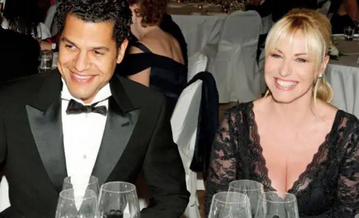 Antonella Clerici con Eddy Martens nel 2012 (controcopertina)