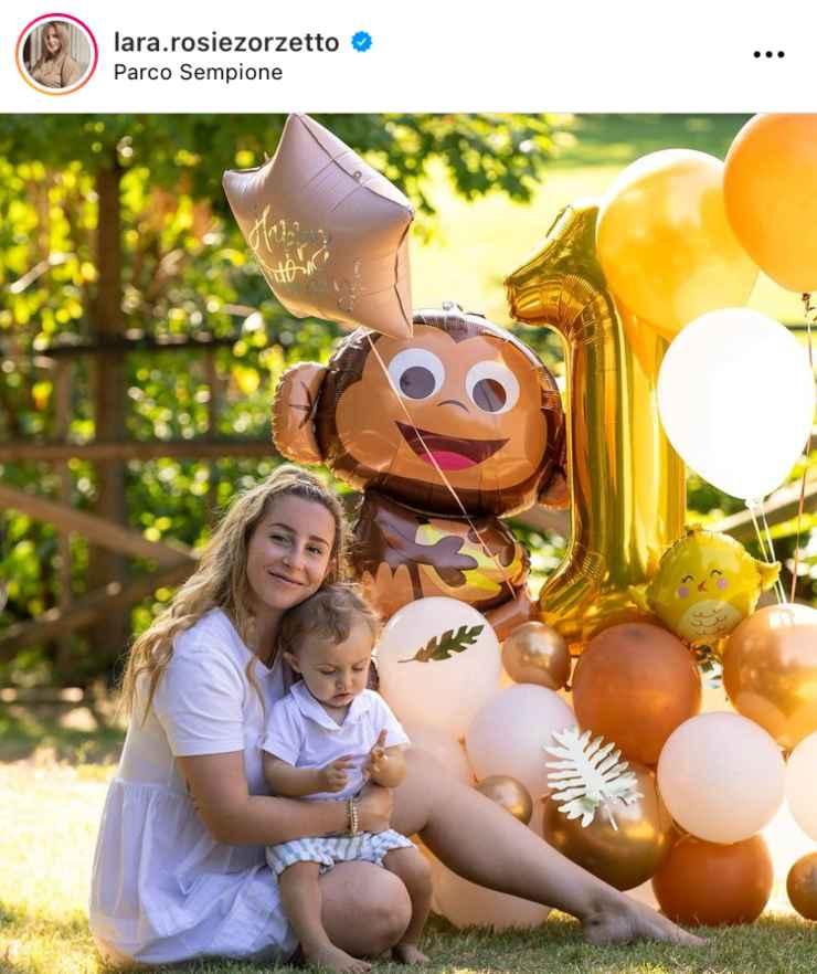 Dal profilo Instagram di Lara