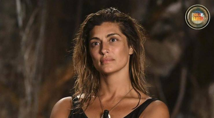 Elisa Isoardi concorrente all'Isola dei Famosi