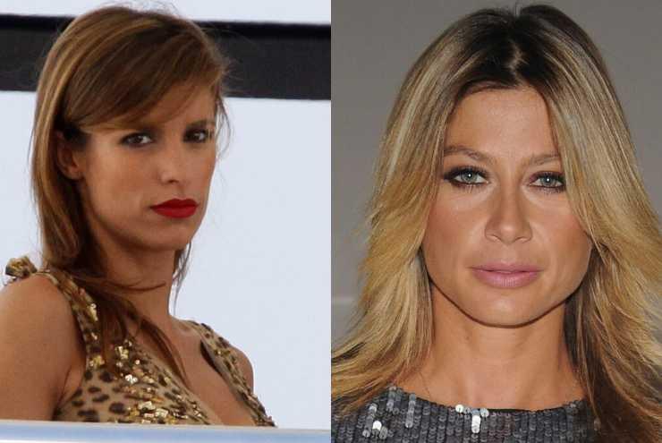 Elisabetta Canalis e Maddalena Corvaglia le due ex veline hanno litigato (Getty, Vittorio Zunino Celotto e Pier Marco Tacca)