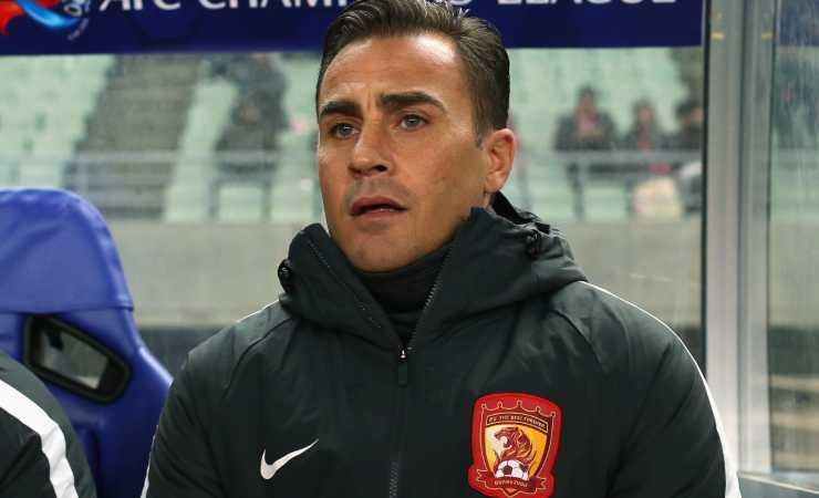 Fabio Cannavaro in Cina (Getty, Buddhika Weerasinghe)