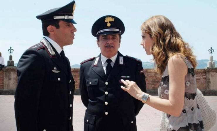 Flavio Insinna, Milena Miconi e Nino Frassica