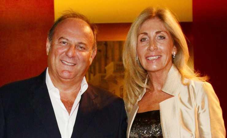 Gerry Scotti e la sua compagna Gabriella Perino
