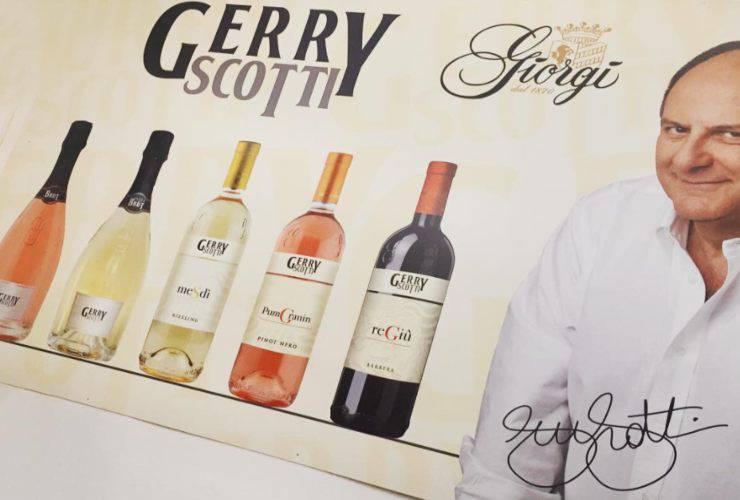 Gerry Scotti e la sua nuova linea di vini (Instagram)