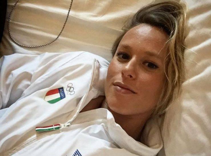 La campionessa Federica Pellegrini