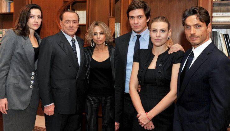 La famiglia Berlusconi (Donna POP)