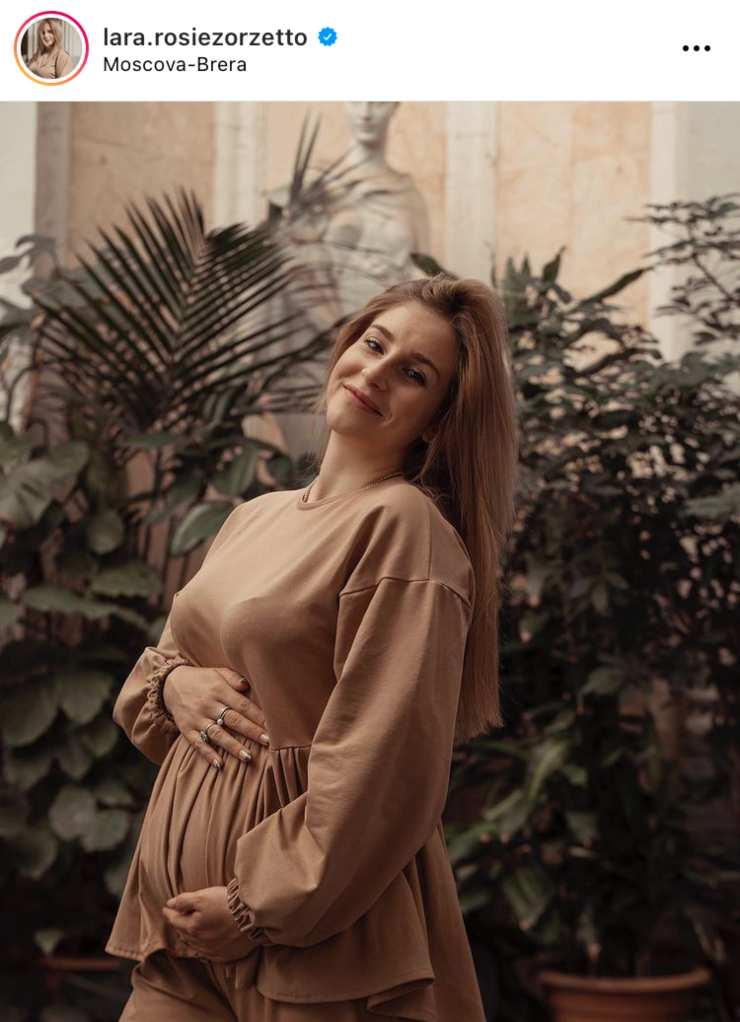 Lara Zorzetto comunica di essere in attesa del secondo figlio