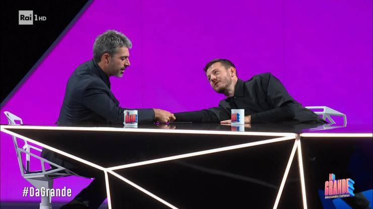 Luca Argentero e Alessandro Cattelan