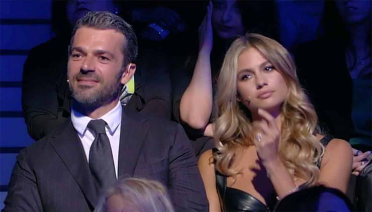 Luca Argentero e la moglie Cristina Marino