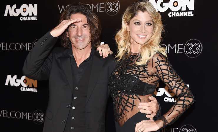 Maddalena Corvaglia e il suo ex marito Stef Burns (Getty, Daniele Venturelli)