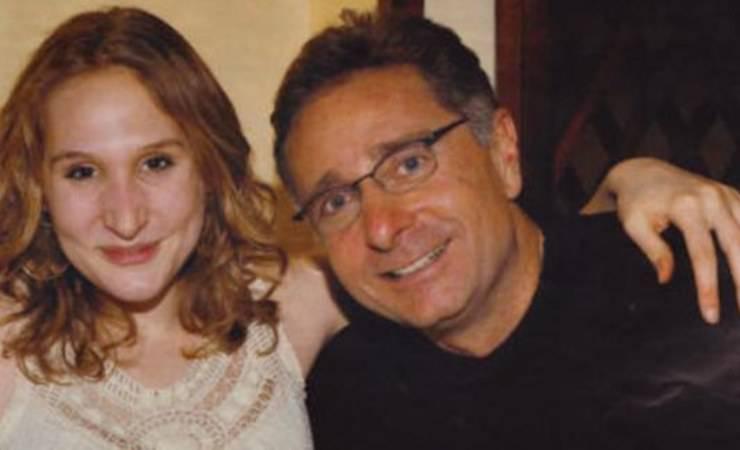 Paolo Bonolis con sua figlia Martina (Fidelity House)