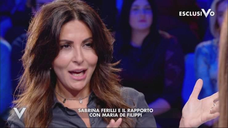 Sabrina Ferilli parla di Maria a Verissimo