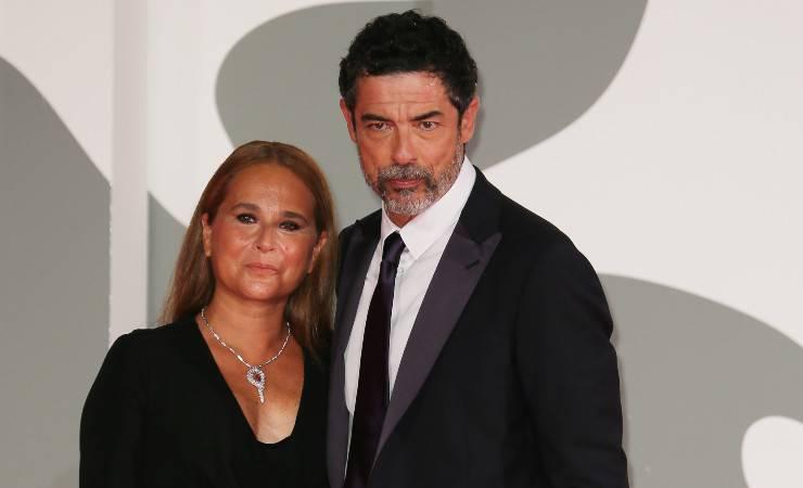 Sabrina Knaflitz e Alessandro Gassman al Festival di Venezia 2020 (Getty, Ernesto S. Ruscio)