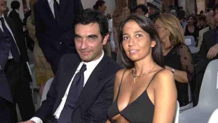 Tiberio Timperi e la sua ex moglie Orsola Adele Gazzaniga (MeteoWeek)