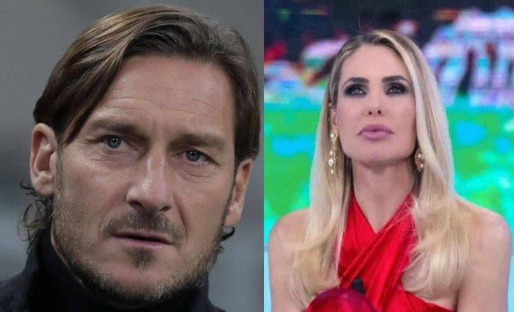 Totti e Ilary c'è aria di crisi (Getty, Emilio Andreoli)
