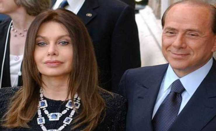 Veronica Lario con Berlusconi nel 2005