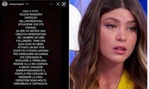 Natalia Paragoni guai costretta lasciarlo Zelletta Instagram