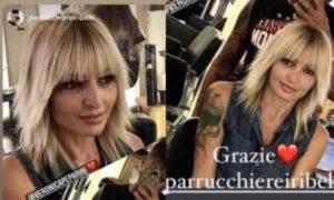 Veronica Peparini cambio look amici