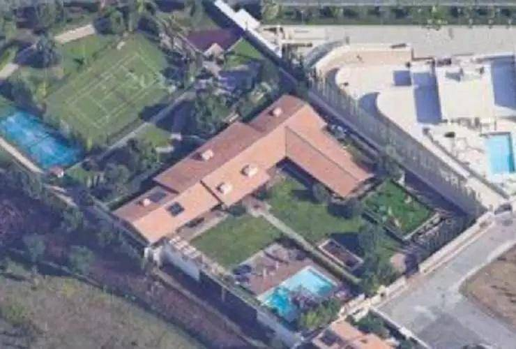 Ecco dove abitano Francesco Totti ed Ilary Blasi