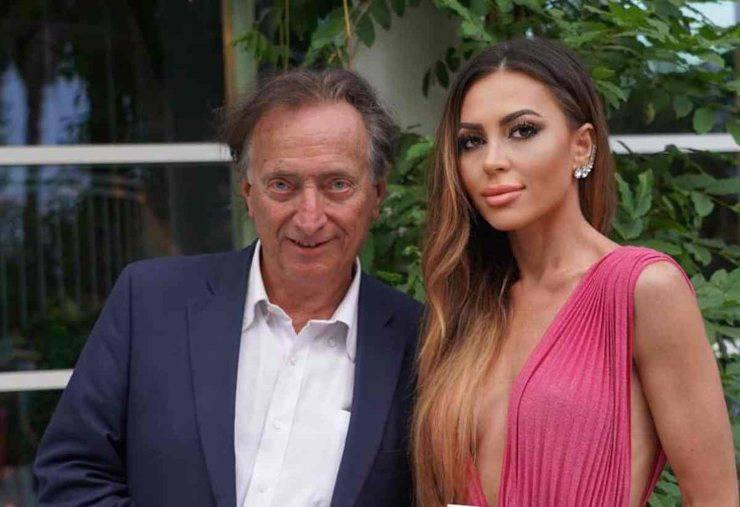 Amedeo Goria e la fidanzata Vera Miales