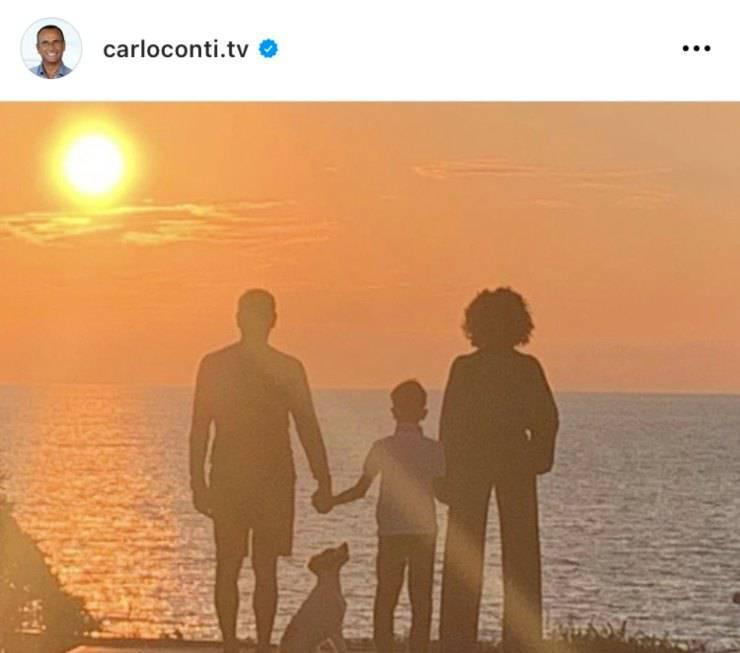 Dal profilo Instagram di Carlo Conti