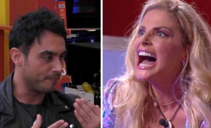 Francesca Cipriani perde un dente e finisce nel tiramisù (Mediaset)