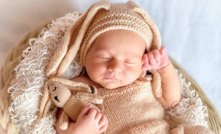 Il neonato può avere problemi di tosse (Pixabay)