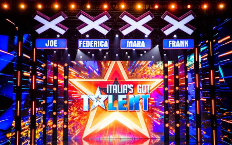 Italia's got talent Studio