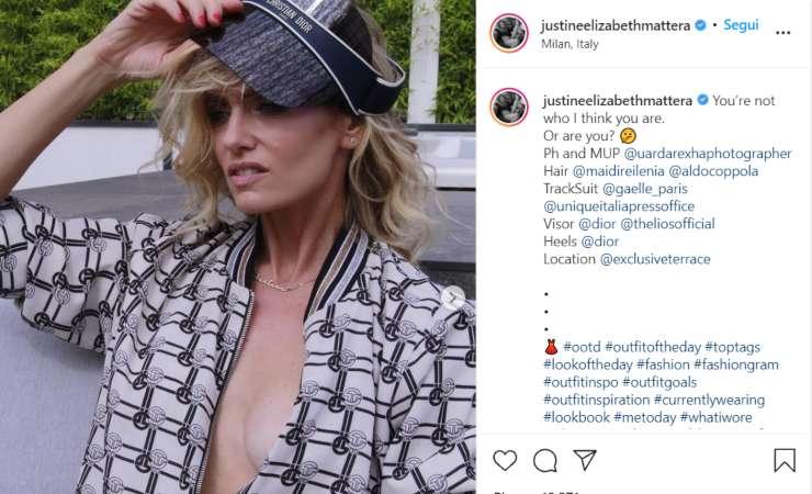 Justine Mattera foto (Instagram)