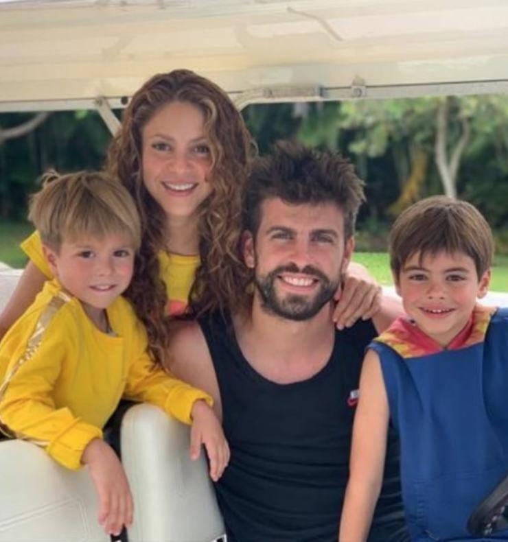 La bellissima famiglia di Shakira