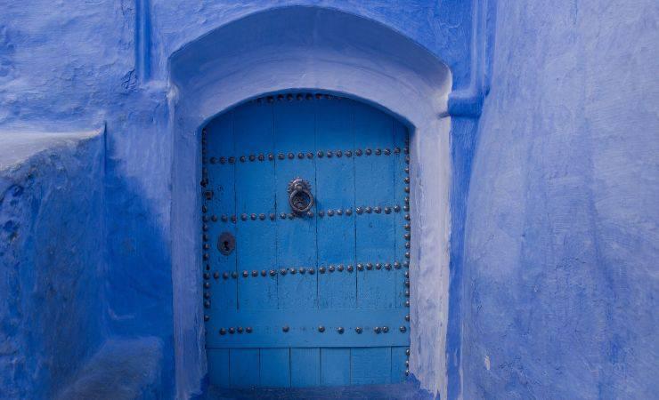 Porta azzurra (Pixabay)