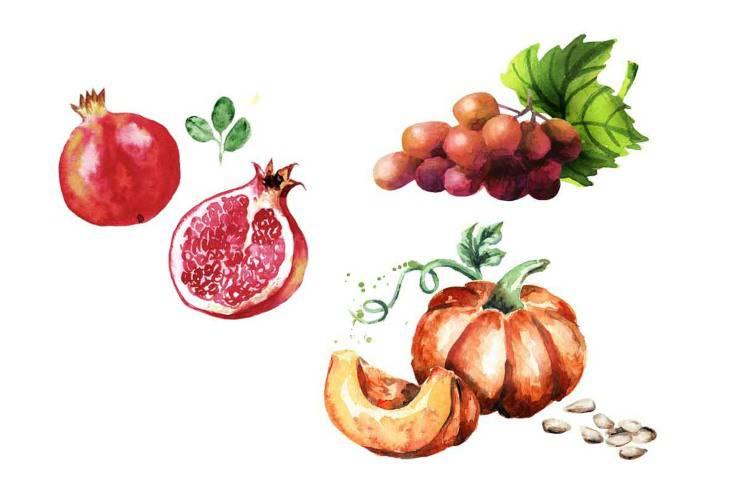 Frutti autunnali - scegline uno e ti diremo chi sei