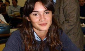 Silvia Toffanin giovane