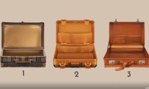 Test Psicologico scegli valigia viaggio