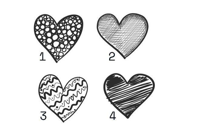 Test: Scegli un cuore, ecco come sei realmente in amore